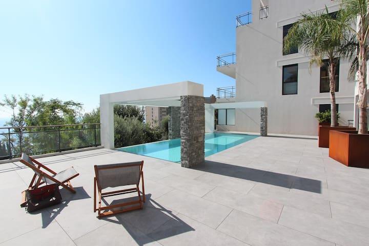 Luxury 1br Monaco&SeaView, HeatedPool&parking#23