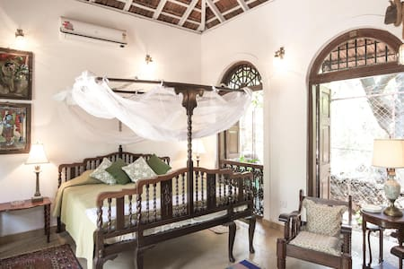 Wow Airy Garden House, Anjuna-Vagator, North Goa - North Goa - Loft