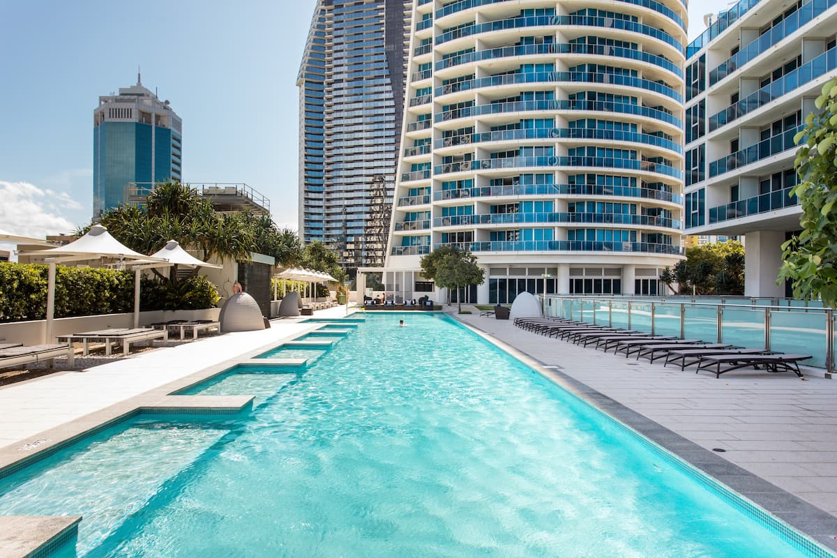 Central Surfers Paradise, Ocean-Views, Fully Self Contained.
