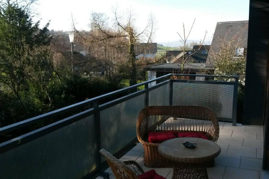 Euer Balkon mit wunderschöner Aussicht