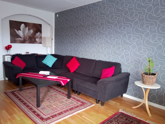 Your room in Stockholm: clean, homey & economic!