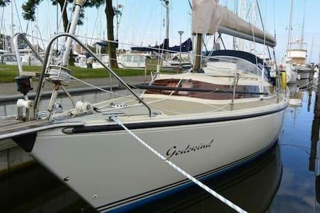 Romantic sail yacht 15 km Amsterdam - Monnickendam - Boot