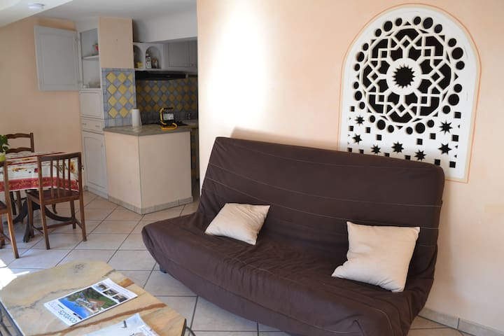 Joli T2 centre village provençal - Aups - Apartamento