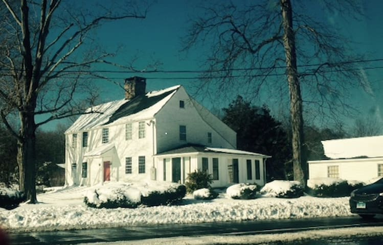 The John Tyler House - Branford - Szoba reggelivel