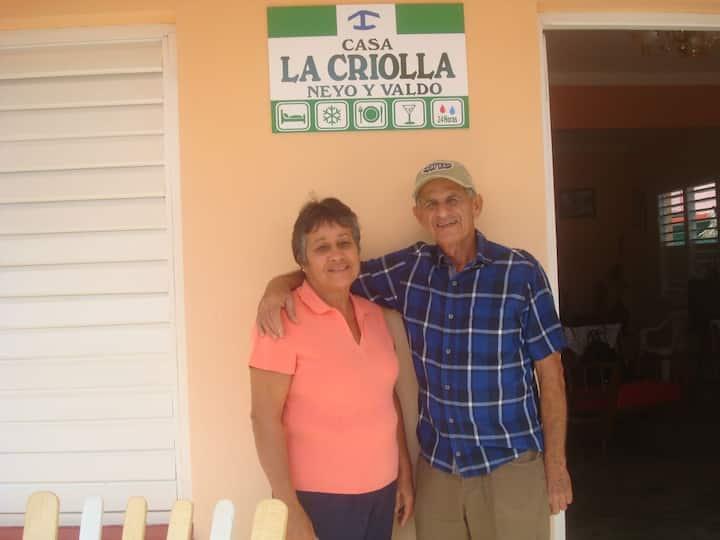 Casa La Criolla. Neyo y Valdo.
