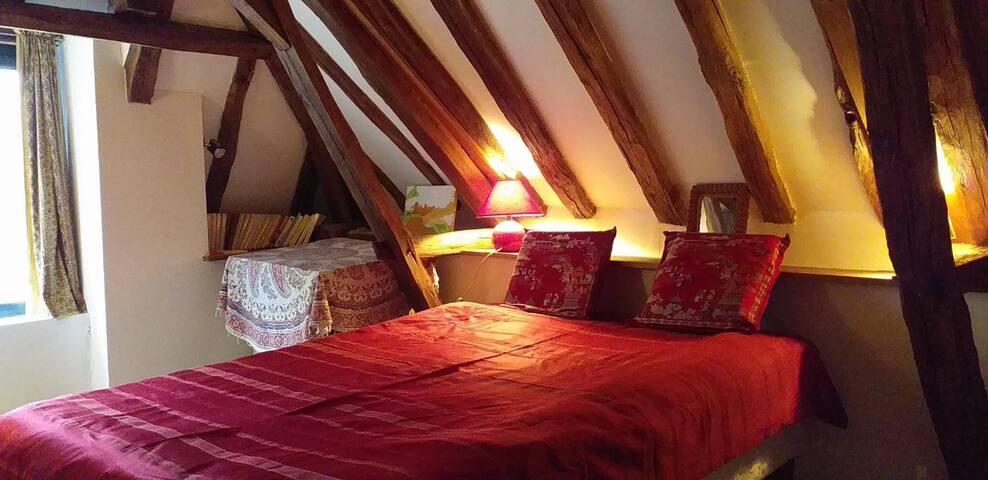 Le hameau de Lalande propose une chambre pour deux