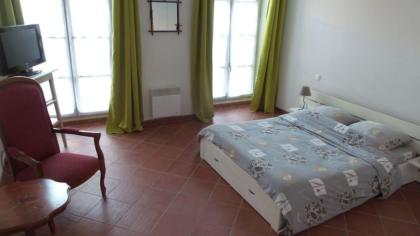 Chambre 1 lit dans hôtel particulier - Carpentras - Apartamento