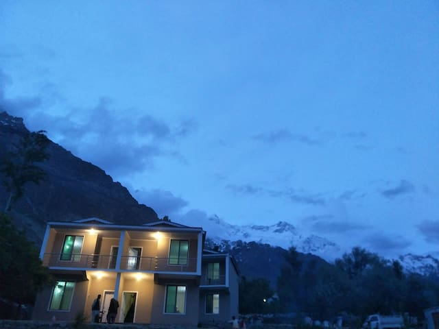 Hideaway, Hunza. (For one small family)