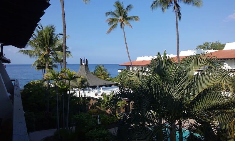 Oceanfront saltwater pool, ocean view condo