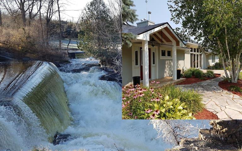 Forest Mills Falls Retreat