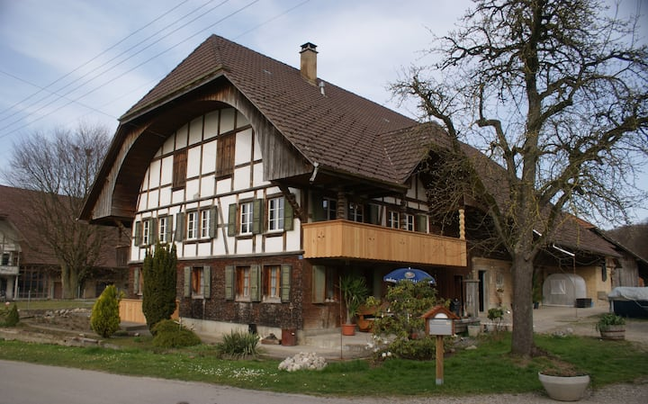 Emmental Farmhouse with style and hospitality