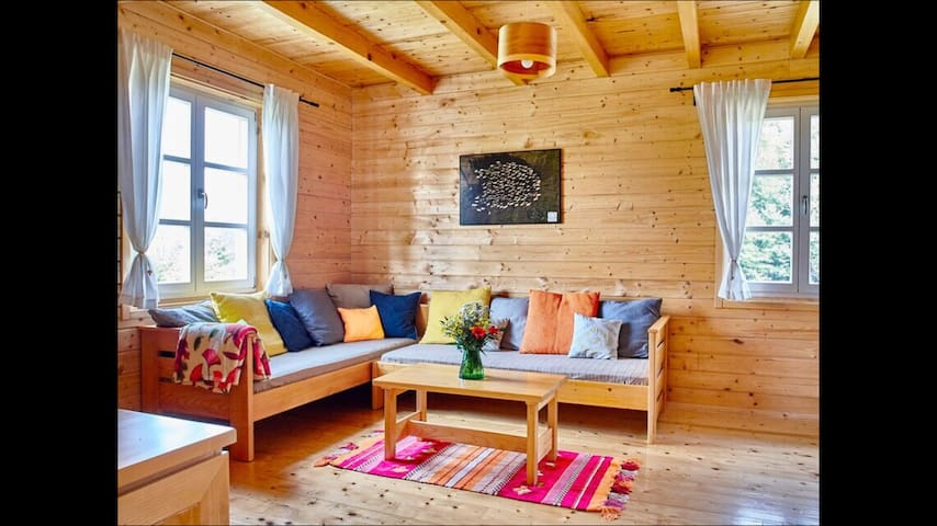 Wooden house Vita Natura near Plitvice lakes