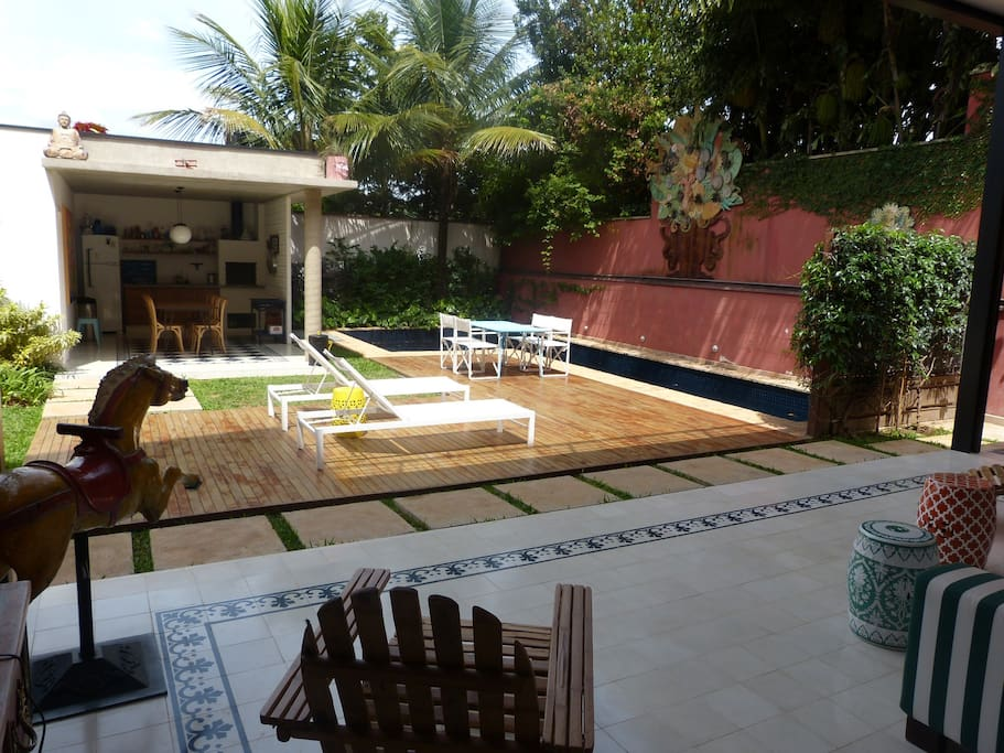 Vista da varanda View from the terrace