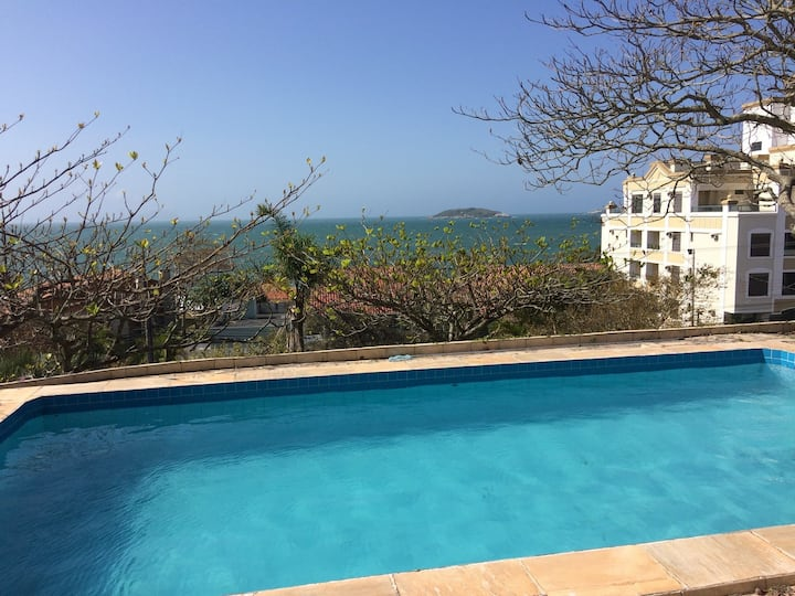 Spectacular House 50m from Beach / Pool with Sea View