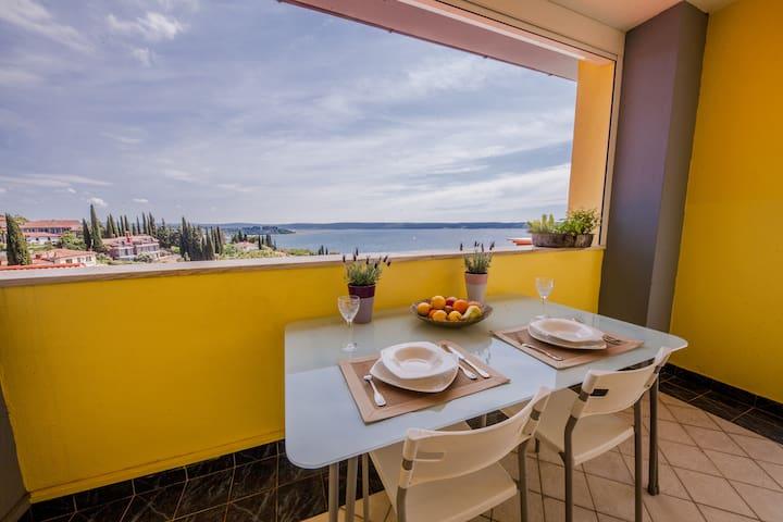 Portoroz sea view VILLA SOLEI APP3