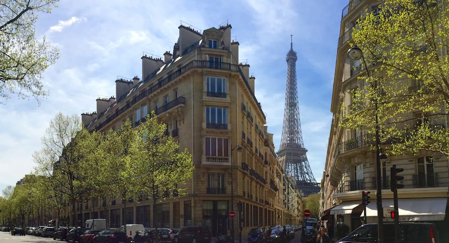 Lovely flat in between Eiffel Tower and Invalids