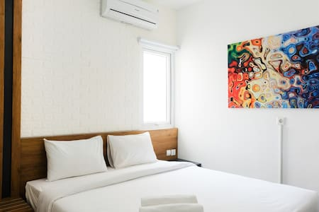 Comfy Studio Apartment at Aeropolis Residence
