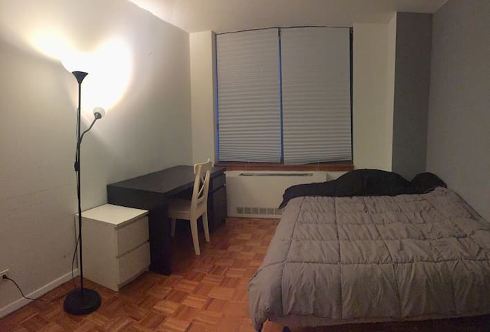 Spacious one bedroom in the heart of midtown.