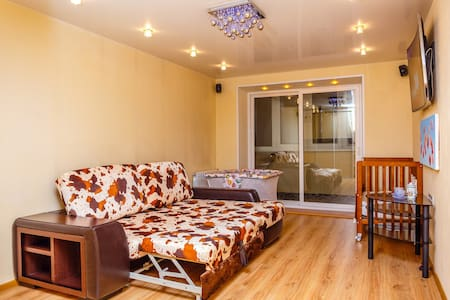 Heart of Vladivostok! 1bedroom and big kitchen.