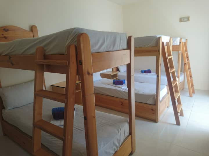 Bunk bed in a FEMALE only Dorm