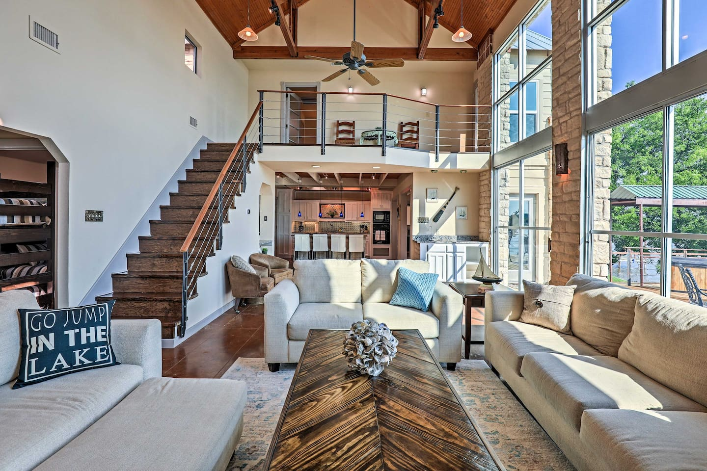 Make the most of your Texas retreat at this gorgeous vacation rental house!