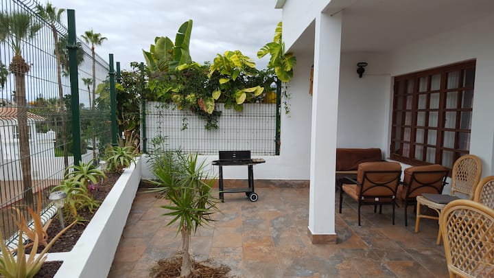 Costa Adeje 3 bedroom villa with garden