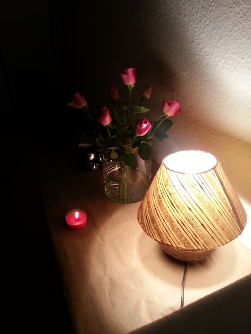 A little piece of my room´s atmosphere