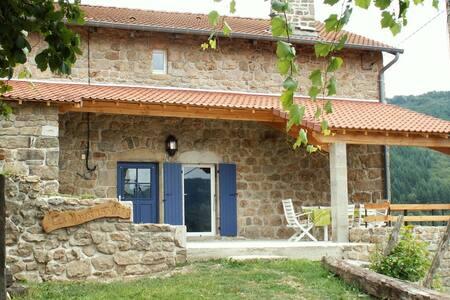 Maison de caractère au coeur du Parc Naturel - Dornas - Dům