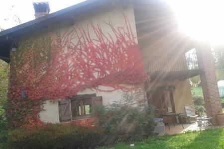 la casa nel bosco è stare nel verde - Pettinengo