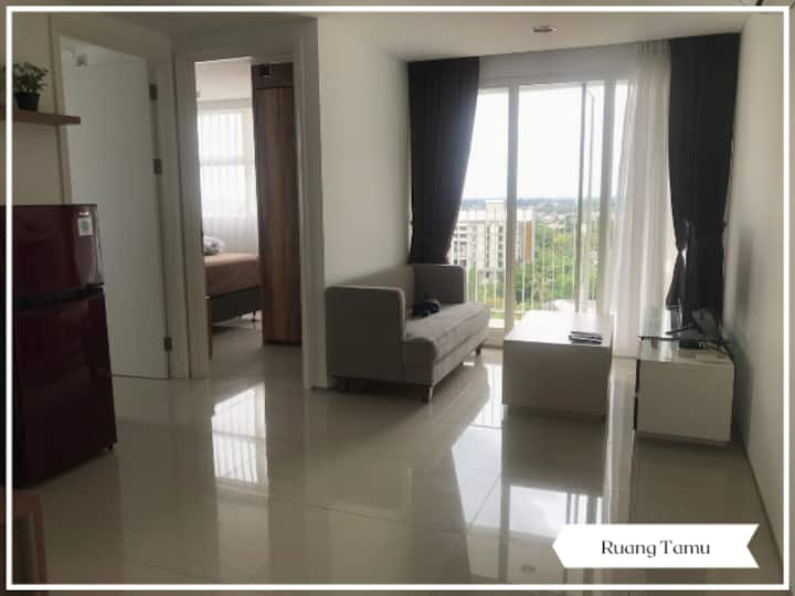 Full Furnished 2 Bedrooms at Tuscany Intermark BSD