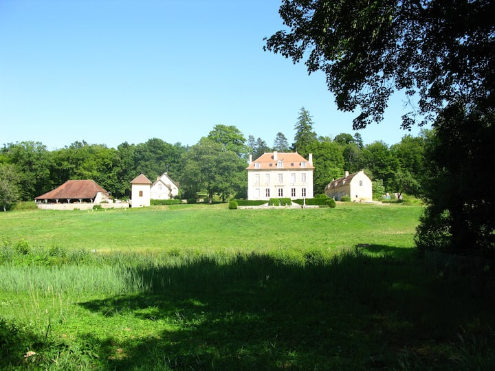 Domaine de la Barre à 9 km de Vézelay (89)