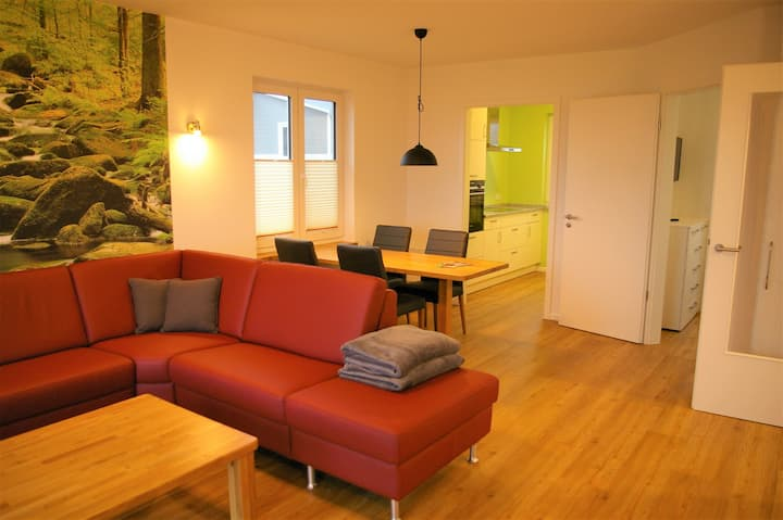 Ferienhaus (78m²) für 4 Gäste mit Haustier