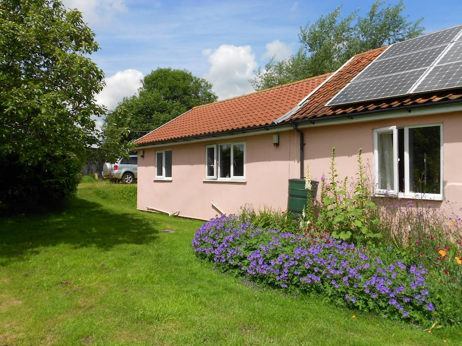 Recently added annex is our guest accommodation,large and airy with all the amenities you will need