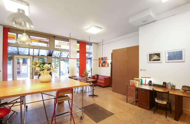 Artist's studio for 6 months in Amsterdam