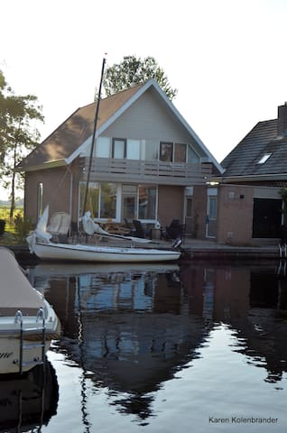 Terherne (vakantie-) huis aan het water