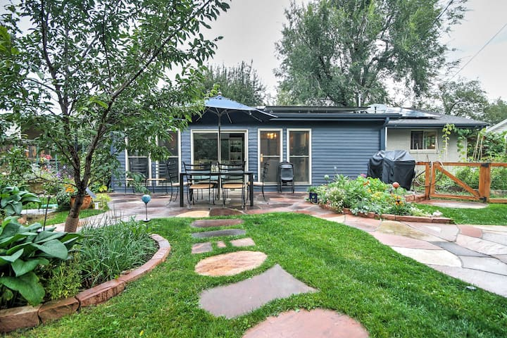 Boulder Home w/Sunroom & Fenced Yard Near Pearl St