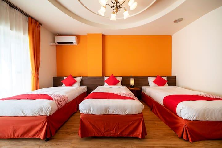 1名様~4名様 客室広さ35㎡~40㎡ リゾート感あふれたる広いお部屋