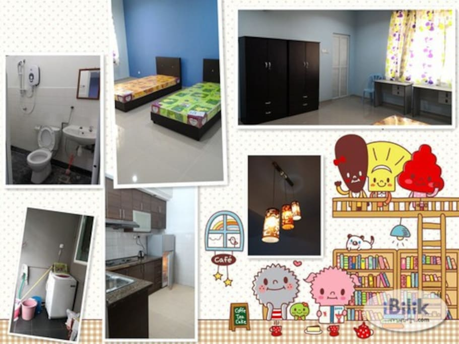 Master Bedroom For Two Ensuite Housing Area Houses For Rent In Cheras Selangor Malaysia