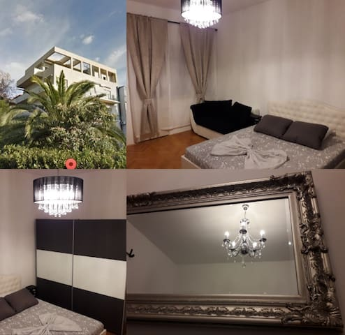 5 min center, beachfront, terrace/Apartment Diora