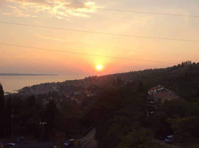 Sunset at Valeta Hill // Portoroz // Modern App - Lucija - Apartment