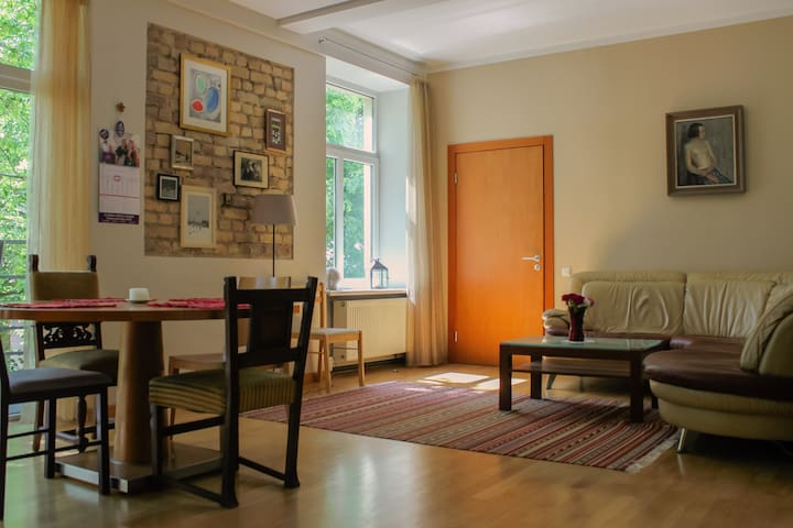 Spacious and classy apartment in Riga Centre