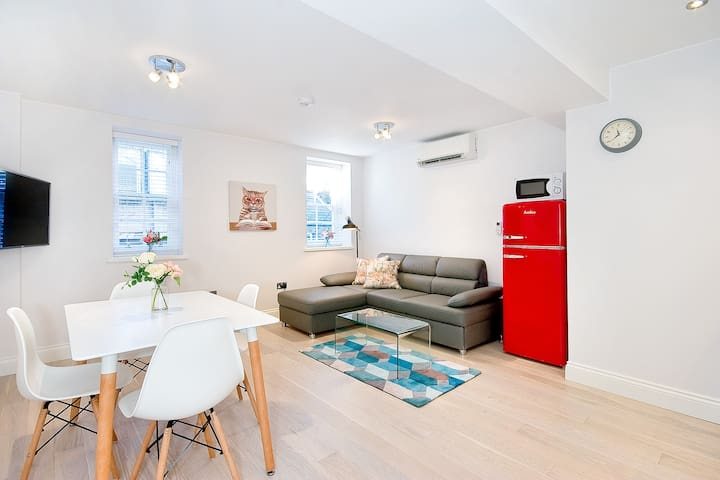 F1E Superb one bed penthouse with sofabed sleeps 4