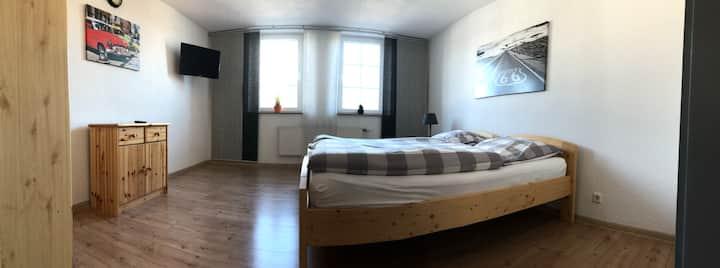 gemütliches Apartment # 5 Kochnische & Duschbad