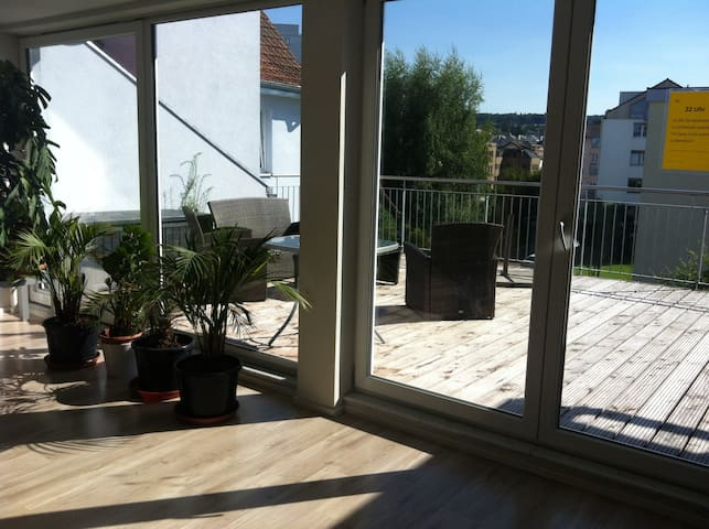 Zimmer mit bepflanztem Südbalkon - Kreuzlingen - Pis
