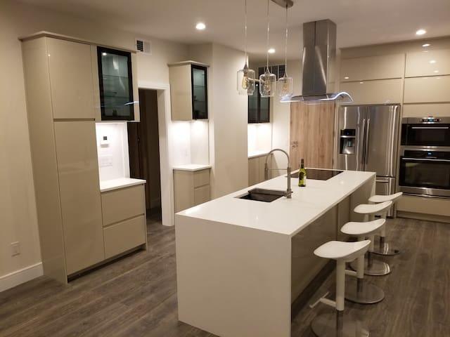 Modern long term rental apartment.