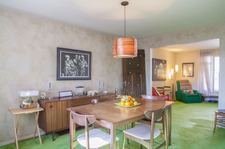 Lovely room, Private Bath, Garage - Pittsburgh - Maison