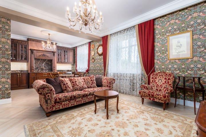 Роскошные апартаменты на Охте
