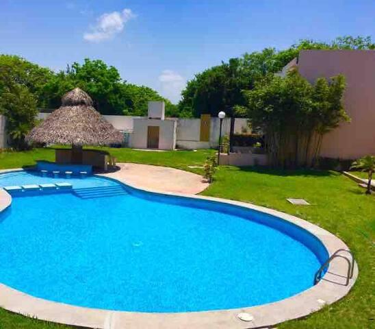 Preciosa Casa de Playa en la Riviera Veracruzana