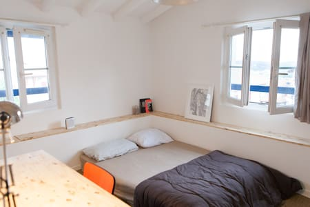 Bidart - cosy bedroom 200m from the Ocean - Radhus