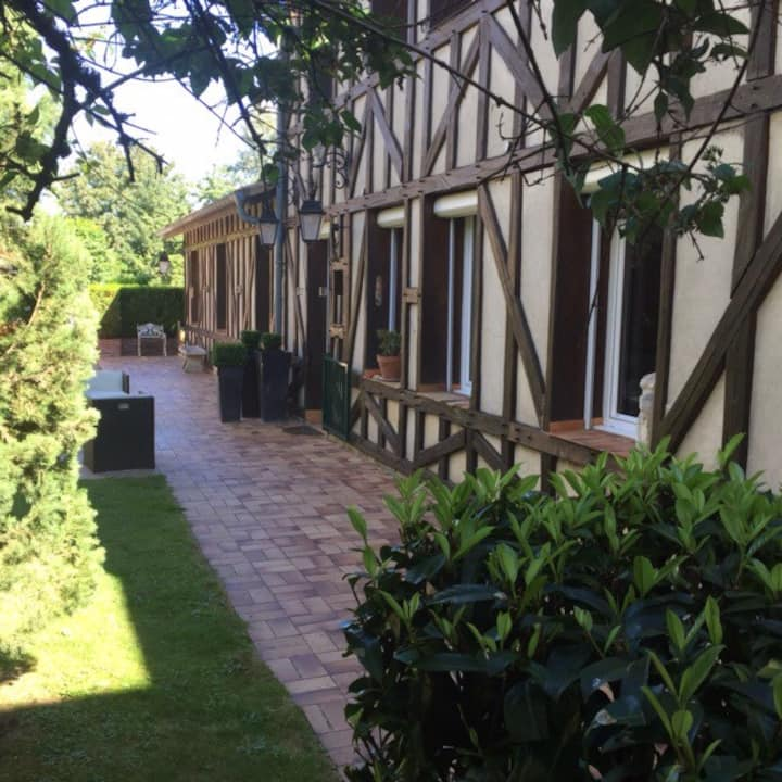Appartement et jardin